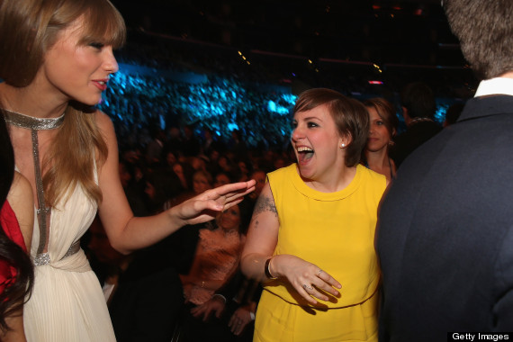 lena dunham and taylor swift