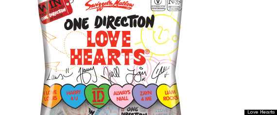 ONE DIRECTION LOVE HEART
