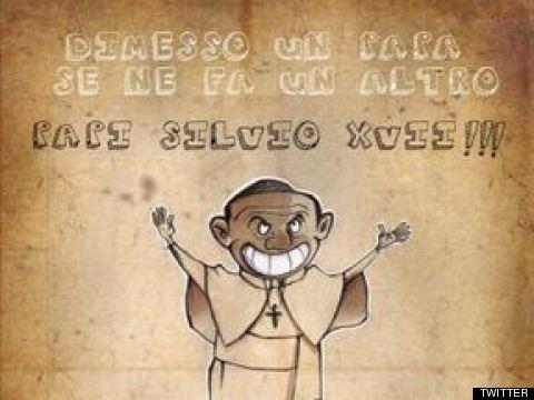 dimissioni papa berlusconi