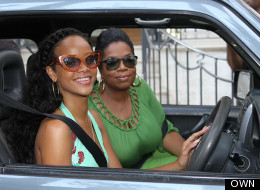 WATCH: Rihanna Shows Oprah Her Childhood Home