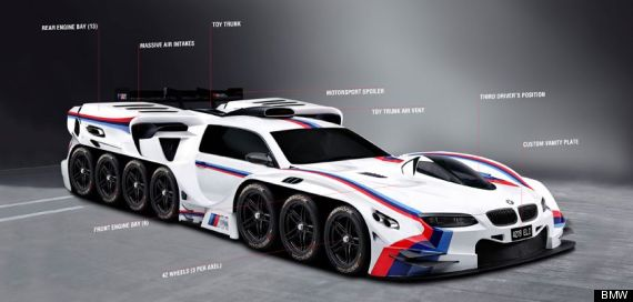 Bmw Designs Wheel Engine Super Car To Cheer Up Year Old