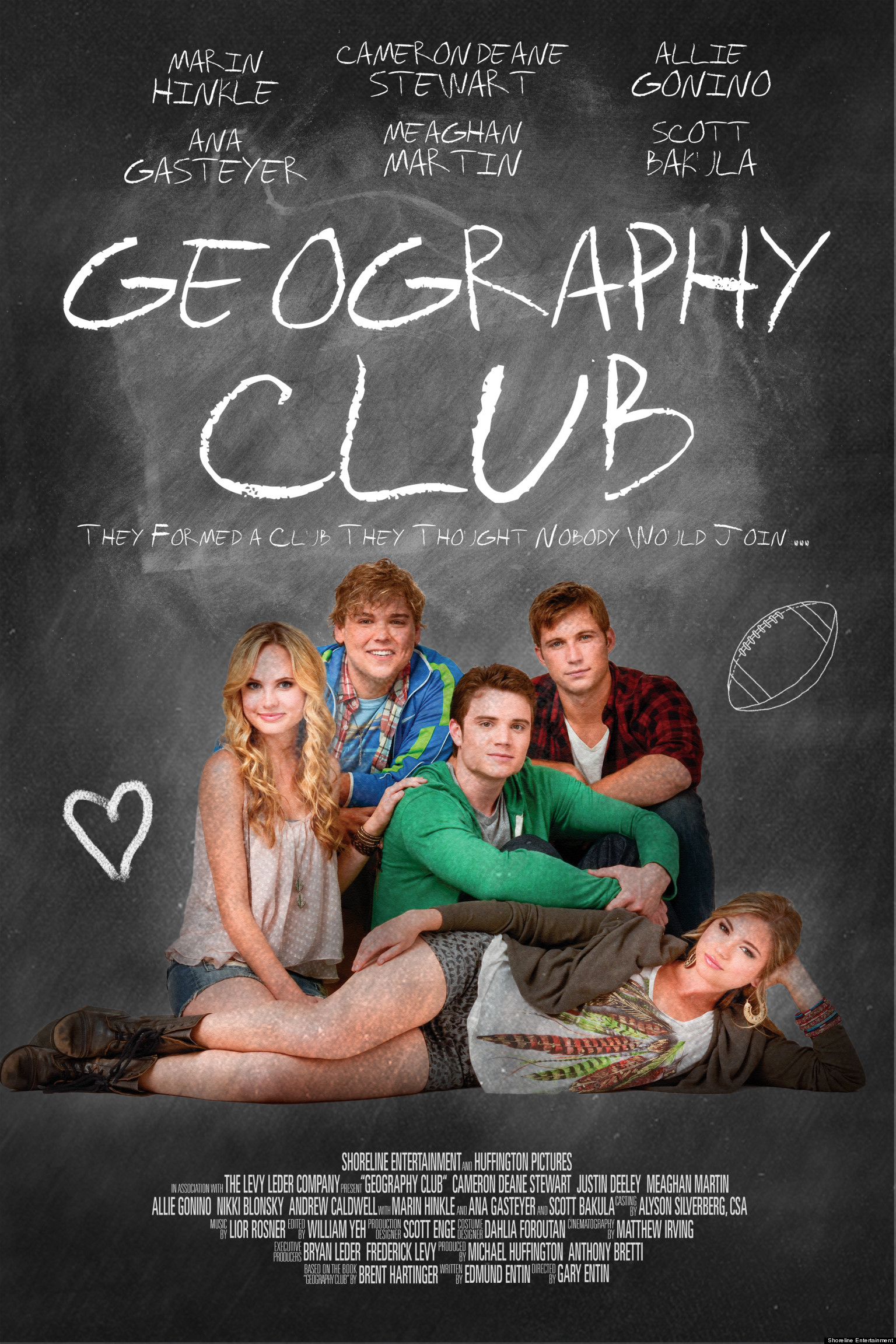 39 geography club 39 poster new teaser for upcoming brent hartinger adaptation huffpost. Black Bedroom Furniture Sets. Home Design Ideas