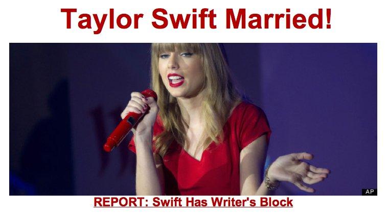 taylor swift married