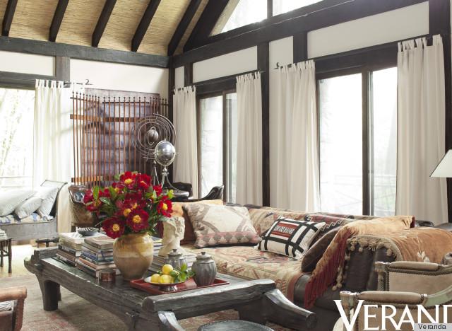 Get The Look Rustic Living Room