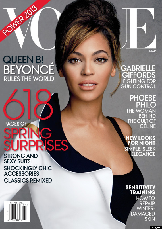 beyonce vogue interview
