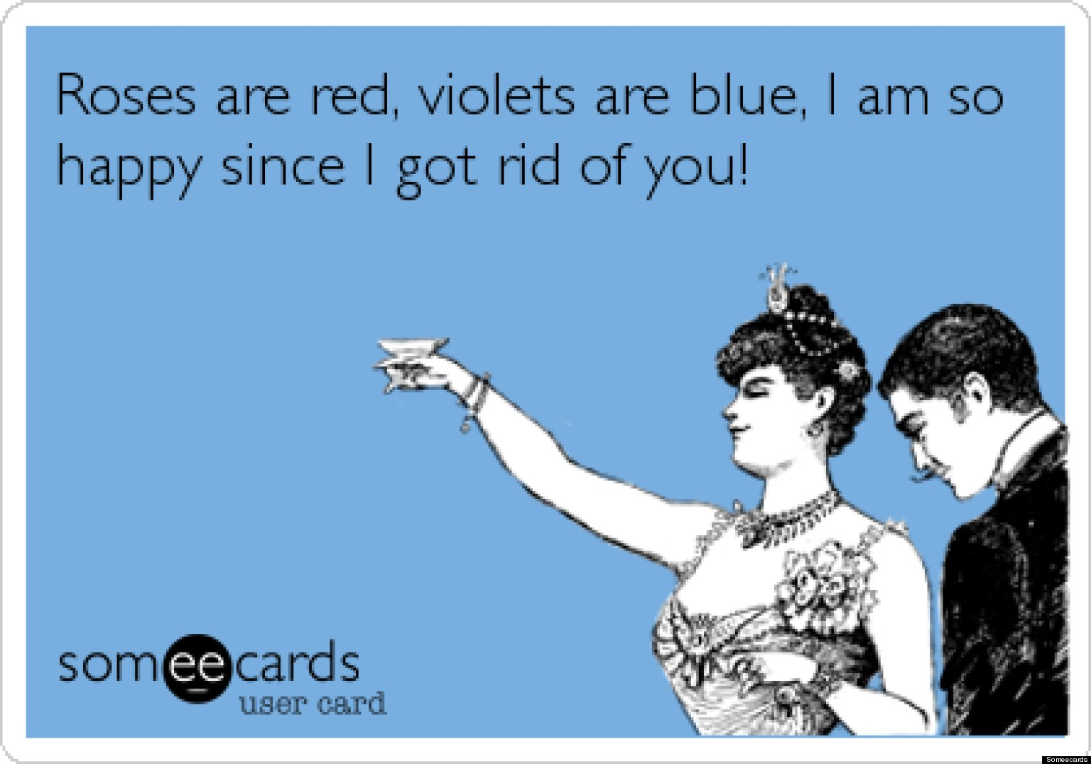 AntiValentines Day Cards 12 ECards You Wish You Could Send To – Some E Cards Valentines