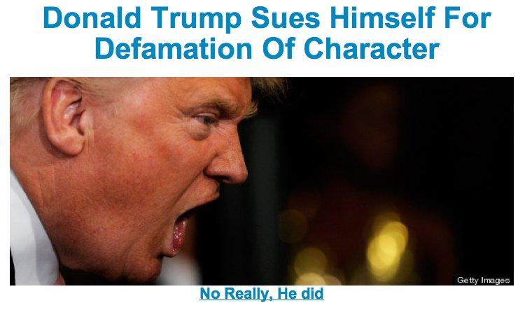 donald trump fake