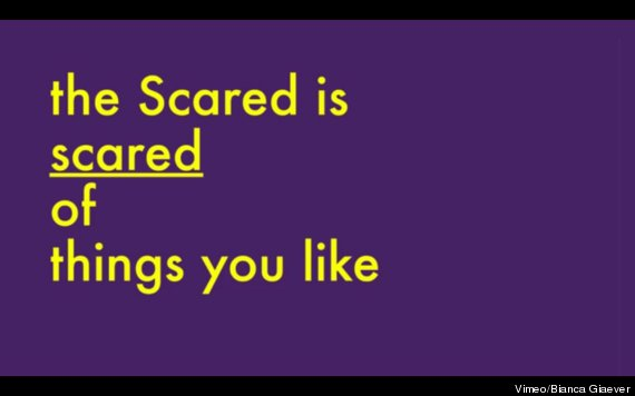 the scared is scared