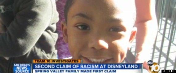 Second Family Accuses Disneyland Racism