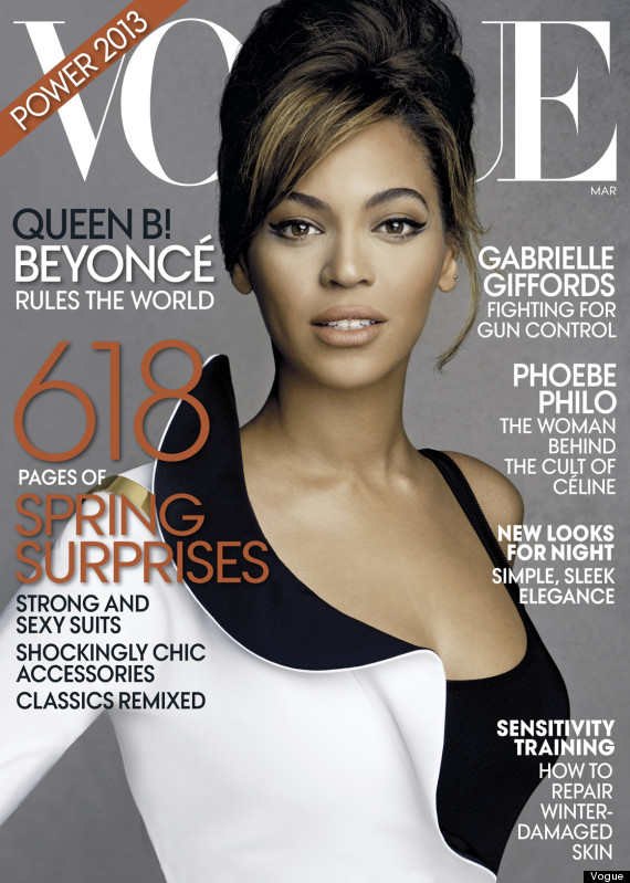 beyonce vogue march