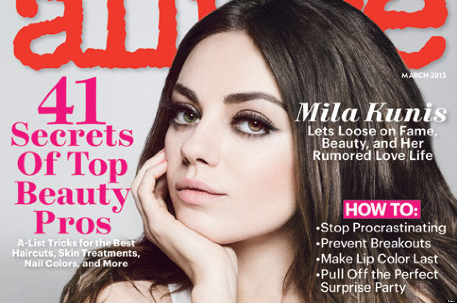 PHOTOS: Mila Kunis Talks On-Screen Nudity, 'Side Boob'