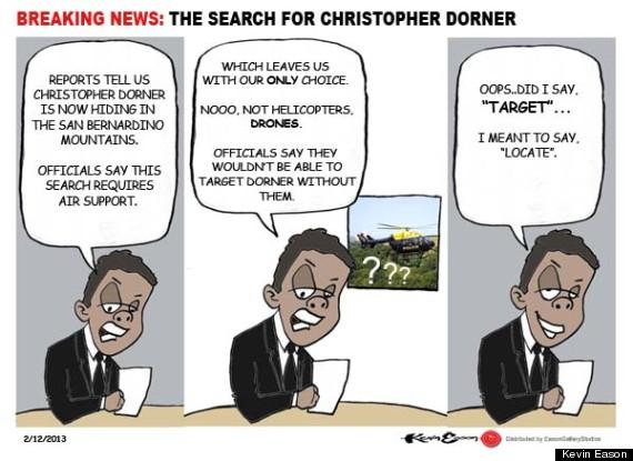christopher dorner drones