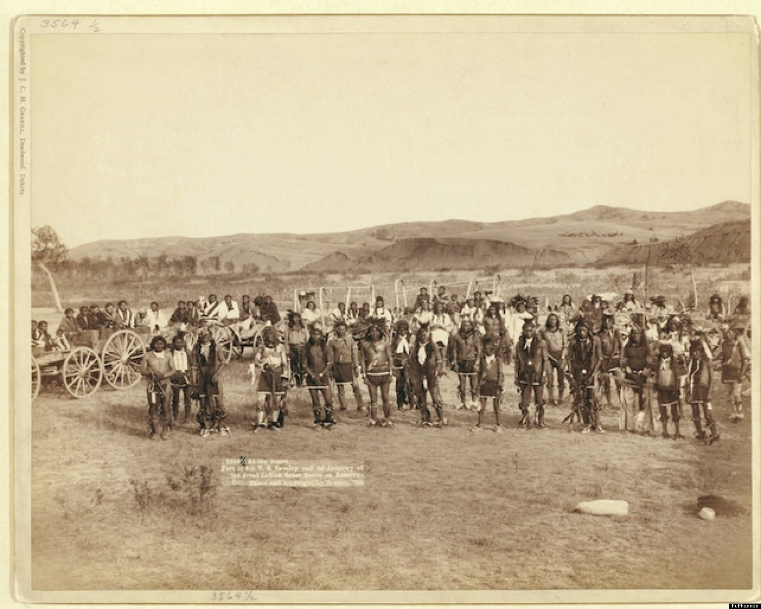 What happened at wounded knee?