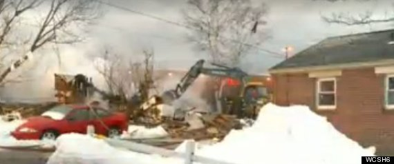 MAINE HOME EXPLOSION