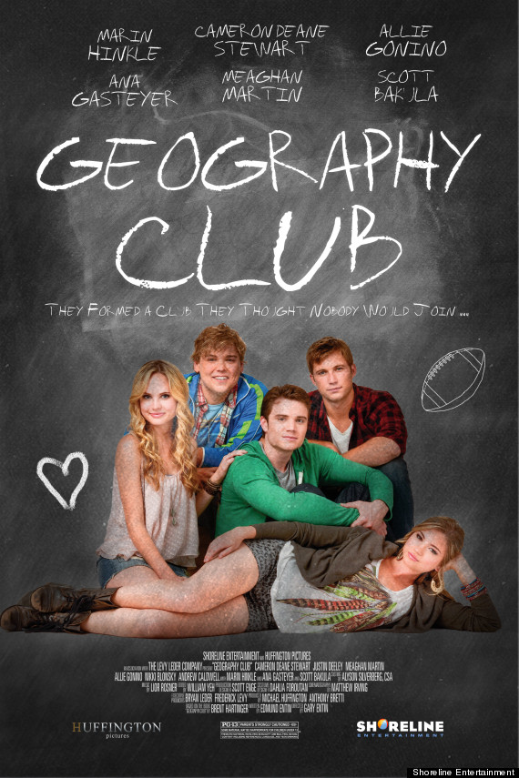 geography club poster new teaser for upcoming brent