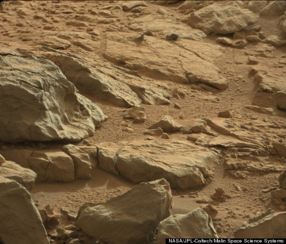 Metal On Mars? Shiny Object Seen By Curiosity Rover ...