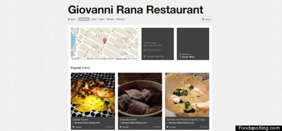 foodspotting rana