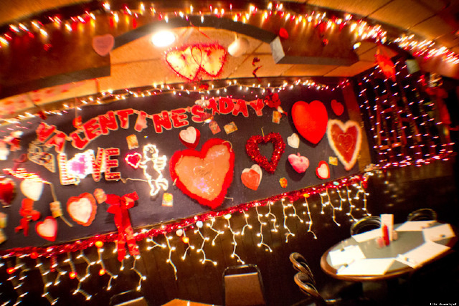 Why You Shouldn T Go Out To Eat On Valentine S Day Huffpost