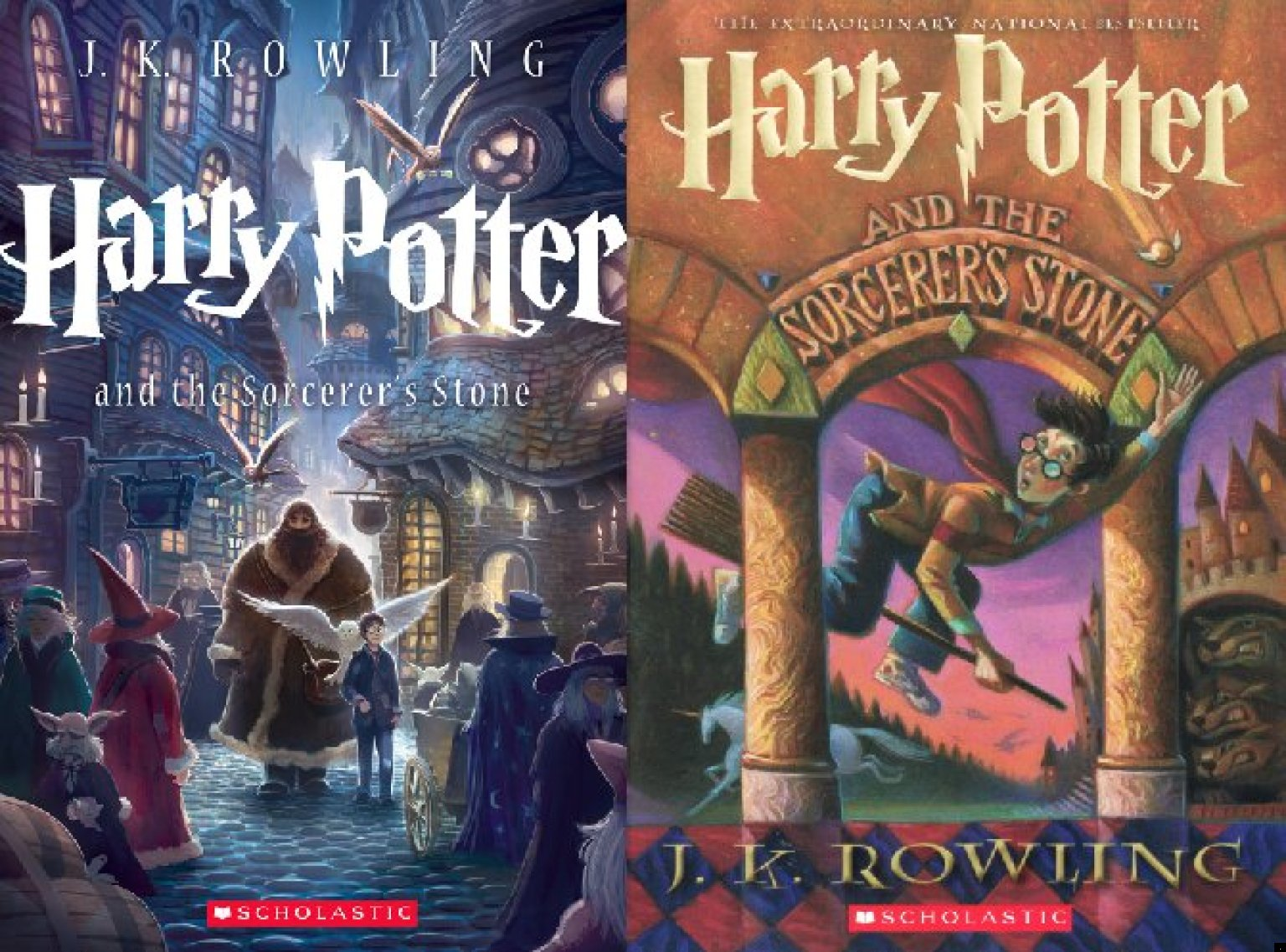 Graphic Novel Book Cover : New harry potter novels designed by graphic novel artist
