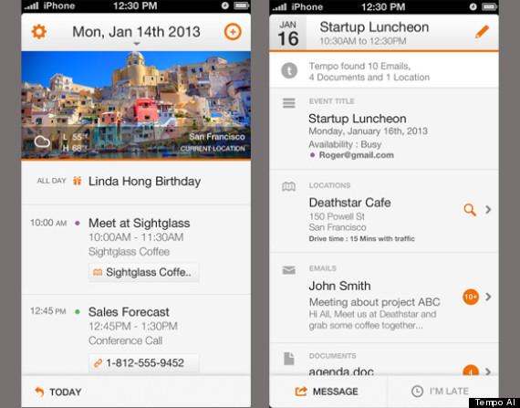 tempo smart calendar app