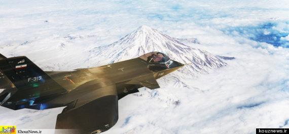 iran jet photoshop