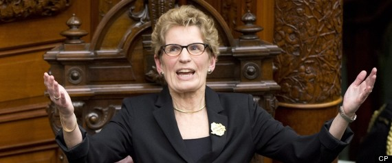 KATHLEEN WYNNE PANTSUIT QUESTION