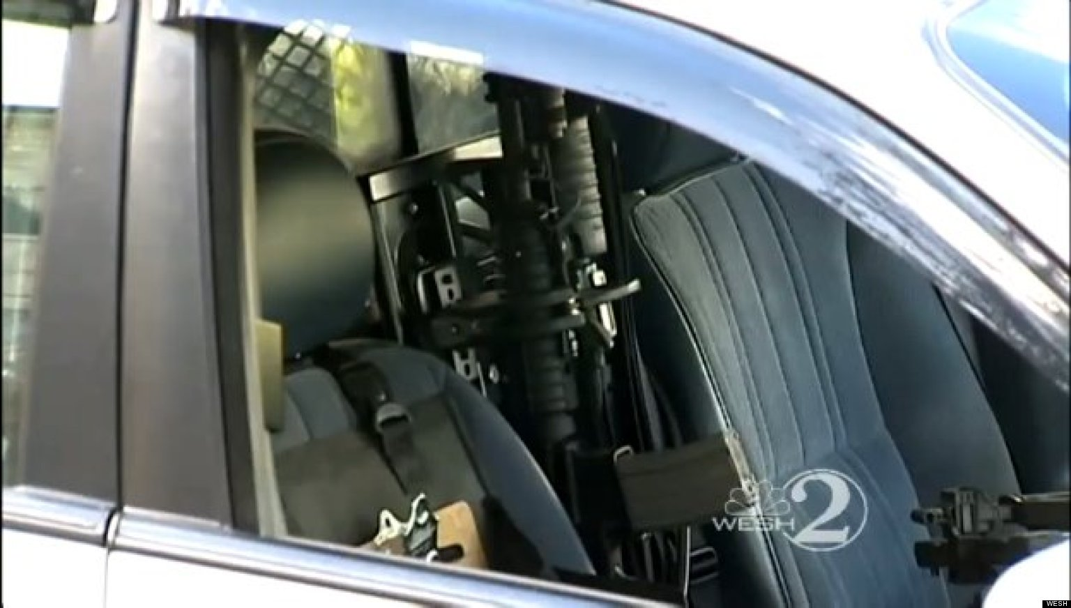 american police cars inside - photo #36
