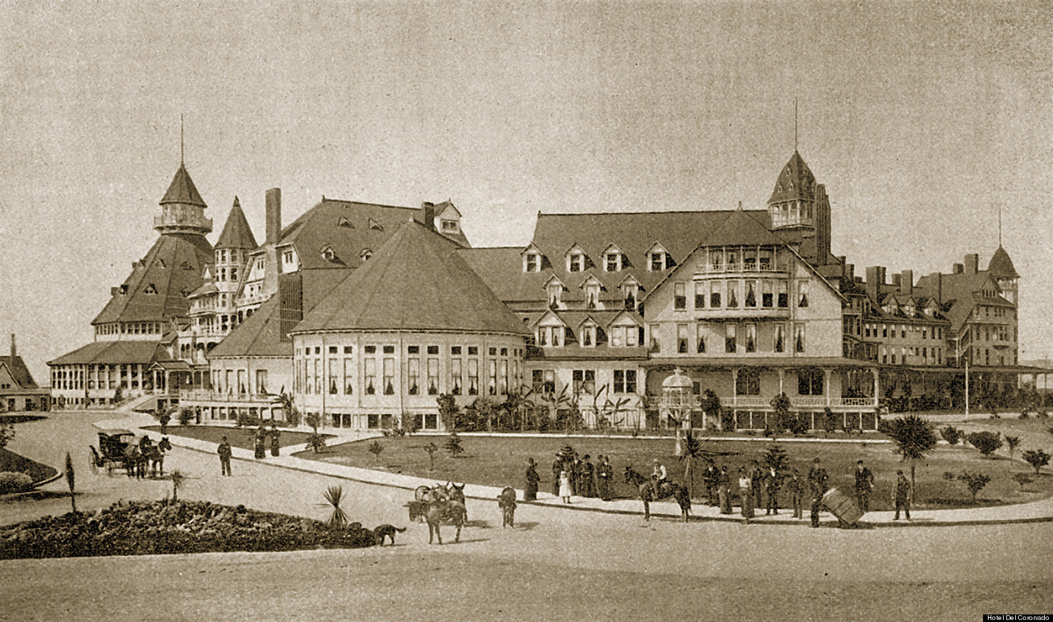 Hotel Del Coronado A Look Back At The Iconic California
