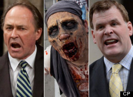 Baird And Martin Squabble Over Zombie Apocalypse ... Seriously