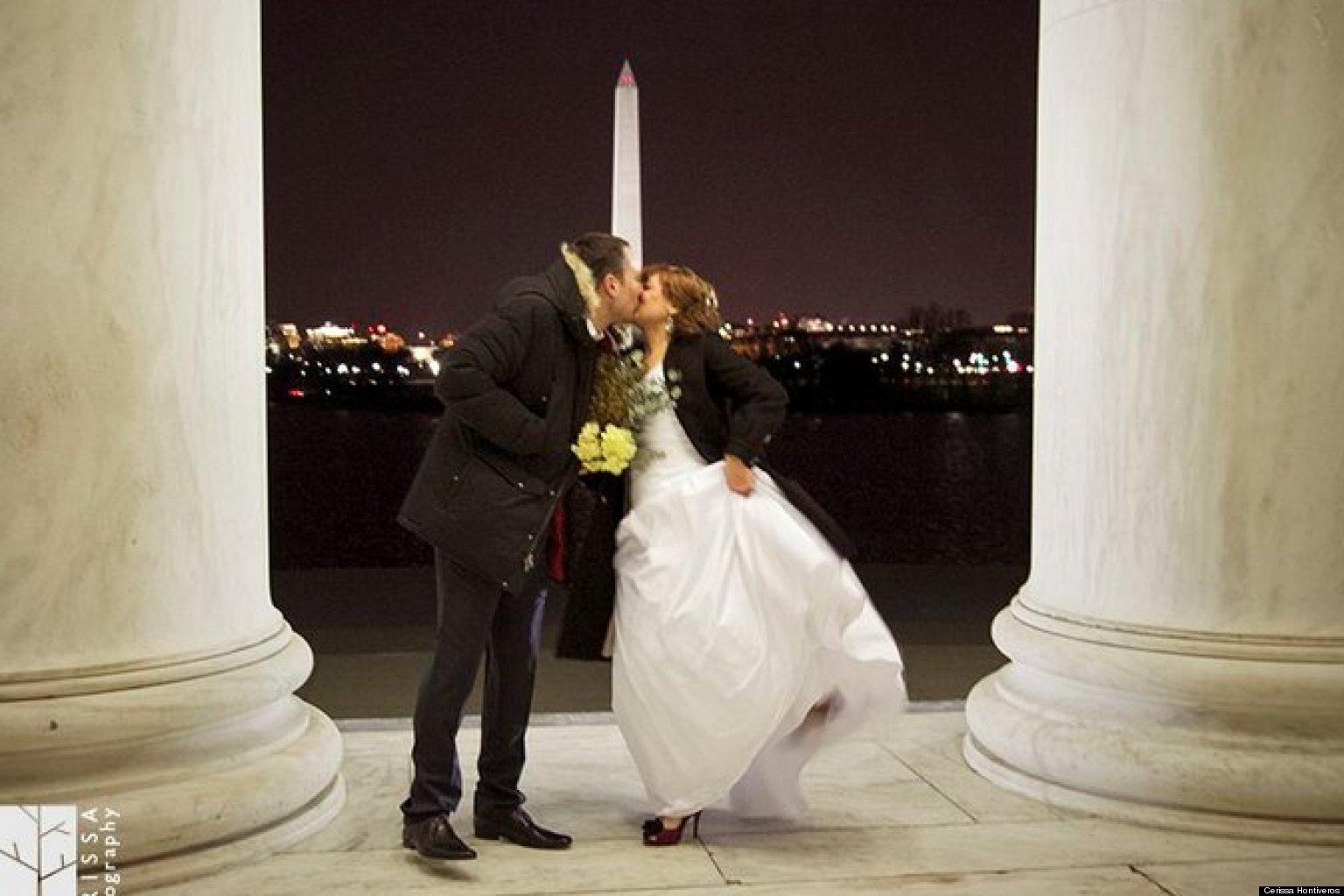 Jefferson Memorial Inside Jefferson Memorial Wedding