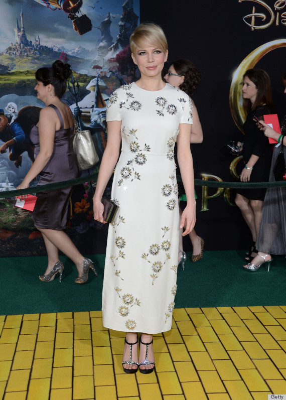 michelle williams dress