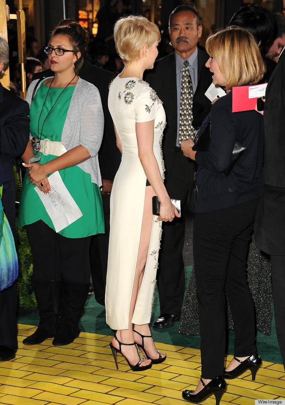 michelle williams dress