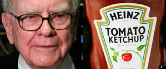 Warren Buffett compra Heinz, industria ketch-up