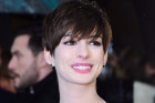 Anne Hathaway's Dress Malfunction At The BAFTAs...