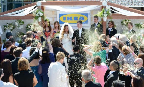 ikea wedding ceremony
