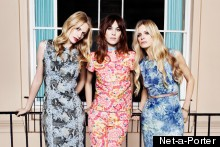 Poppy Delevingne, Alexa Chung & Laura Bailey Cover Net-A-Porter's Digital Magazine