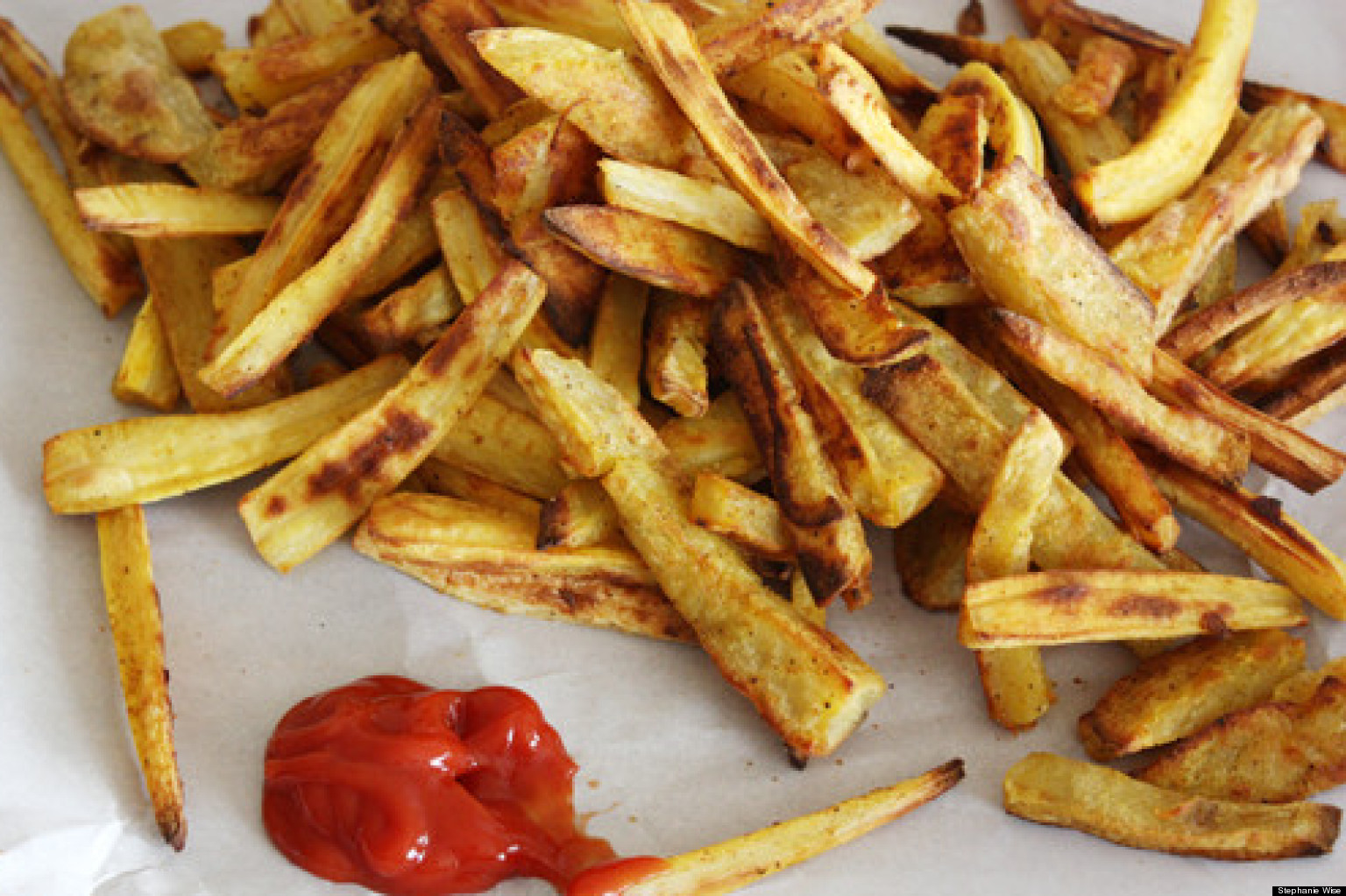 Curry Winter Root Vegetable Fries | The Huffington Post