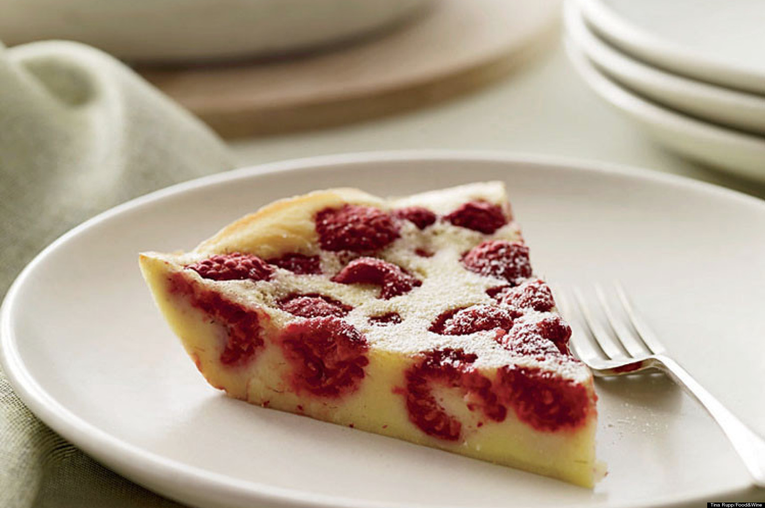 Chocolate Raspberry Clafoutis Recipe — Dishmaps