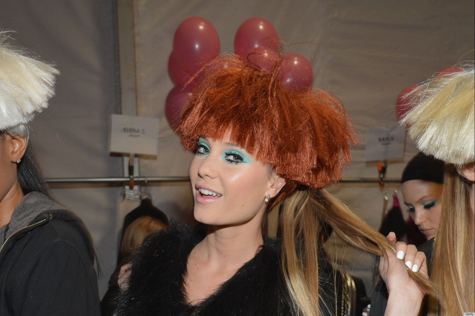 Most Outrageous Beauty At New York Fashion Week Fall 2013
