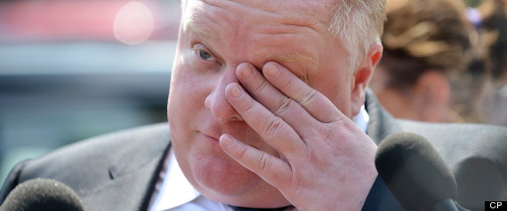 ROB FORD APOLOGY MEDICAL