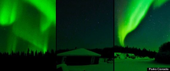 Aurora Borealis Northern Lights Alberta