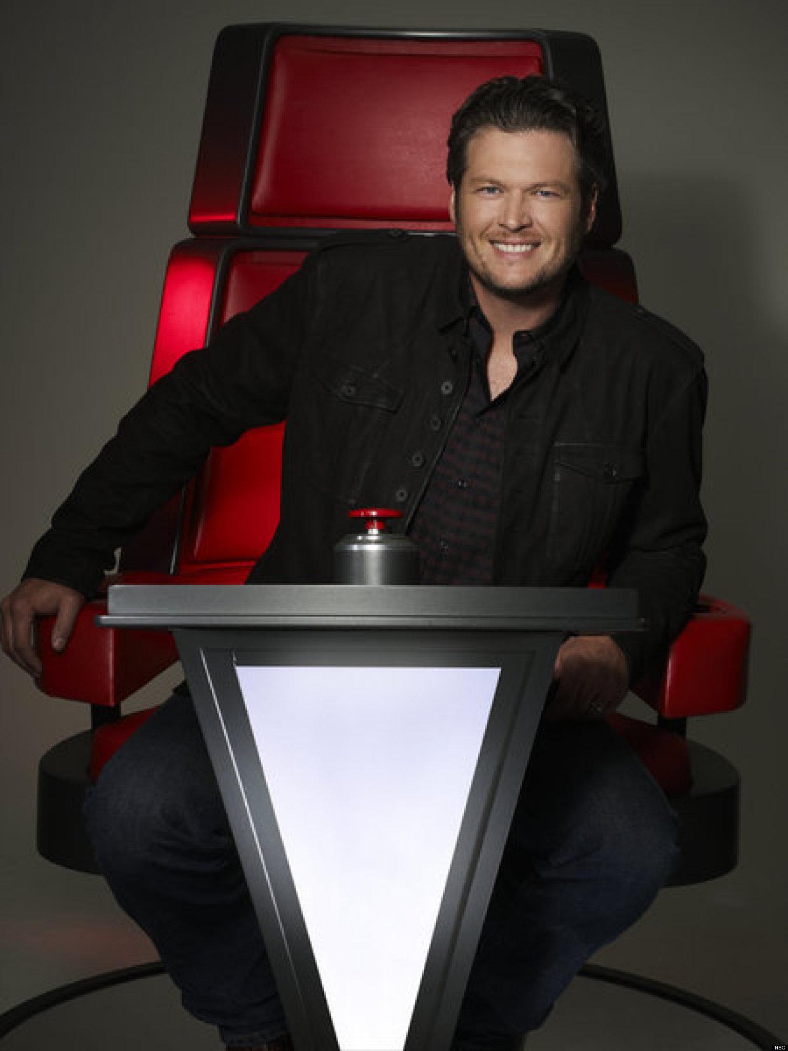 The Voice Within The Cards: 'The Voice': Blake Shelton On Shakira And Usher, Season 4