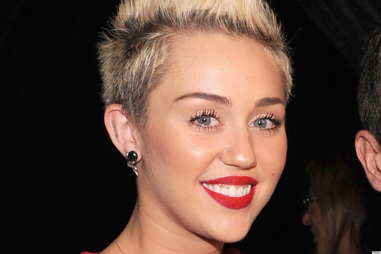 Miley Cyrus Attends Marc Jacobs Show In Mickey Mouse ...