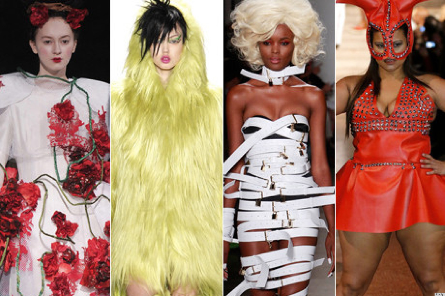 New York Fashion Week 2013 The Wildest Least Wearable Looks From The Runway Photos Huffpost