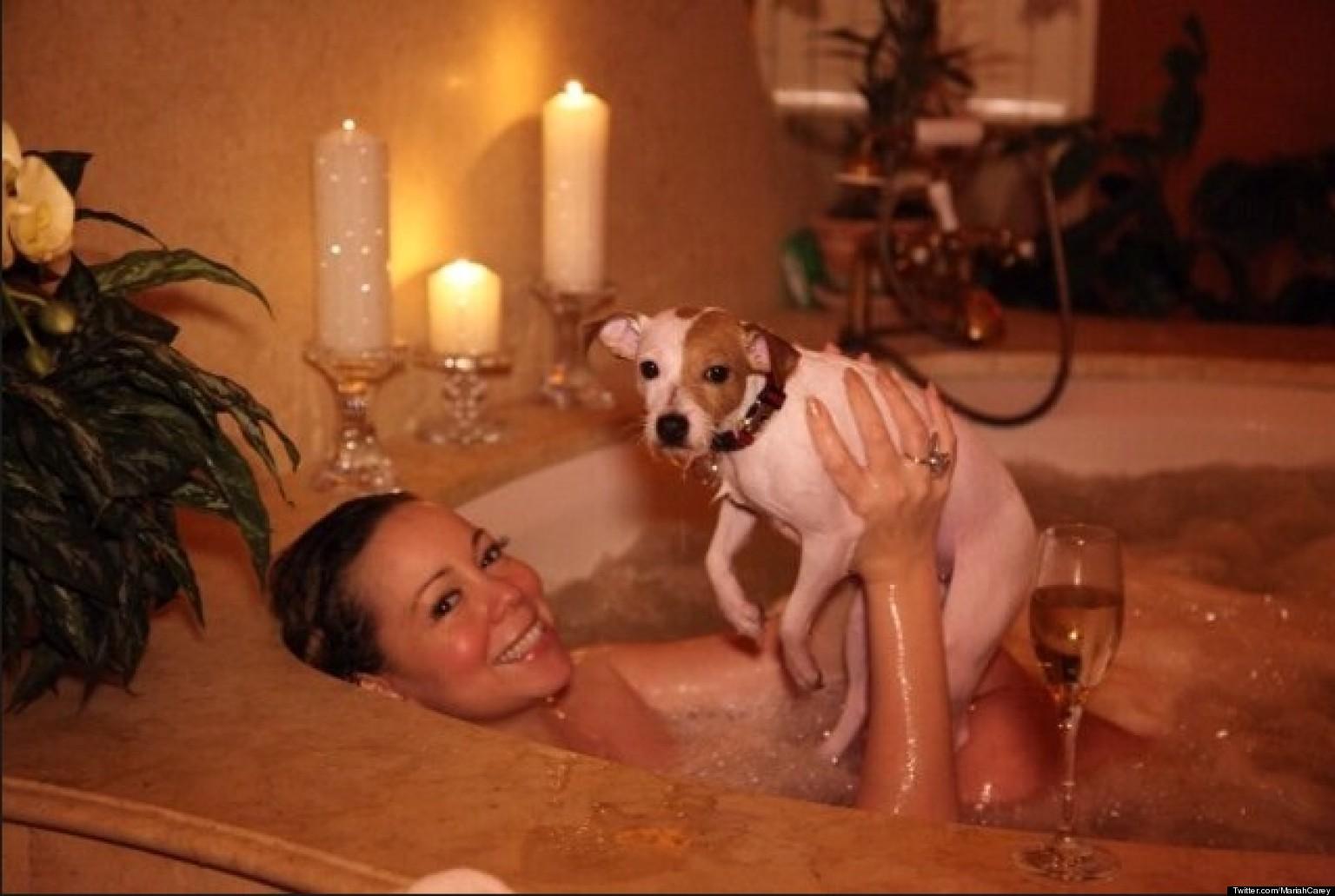 С мужем в ванной 5 фотография