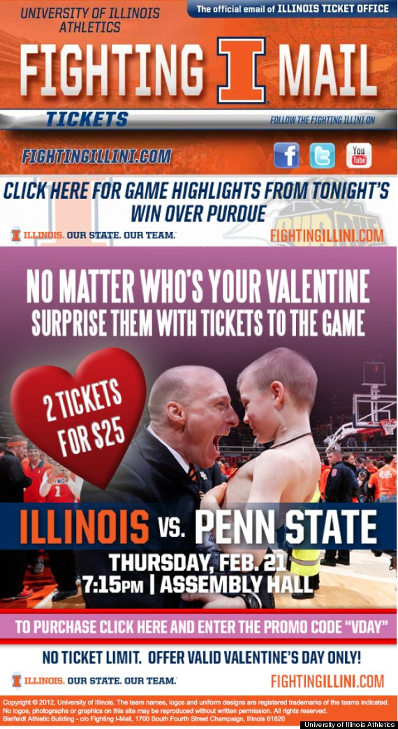 illinois penn state valentine photo