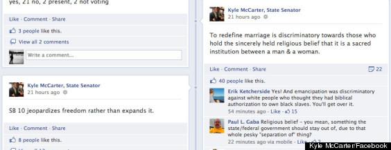 kyle mccarter illinois gay marriage