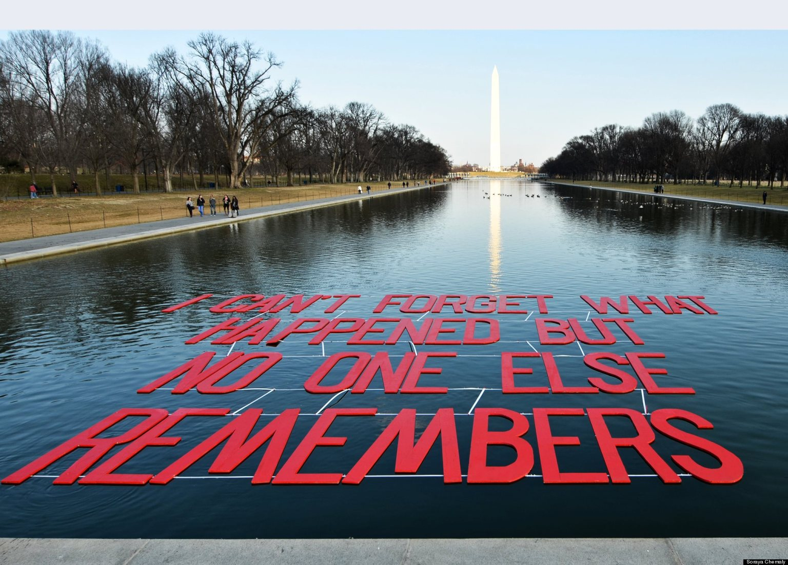 39 i can 39 t forget what happens but no one else remembers - Reflecting pool ...