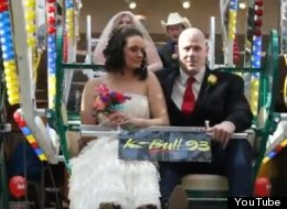 WATCH: Valentine's Day Was A Very Strange Day For Weddings
