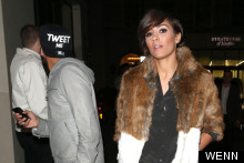 Hey Frankie Sandford, Is That Faux Fur?